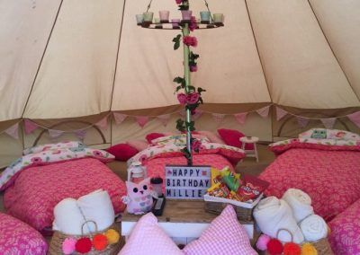 Little Girls Party Tent